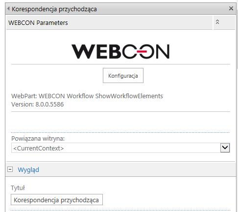 webpart-konfig