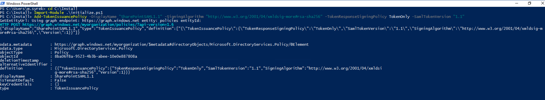 Azure AD integration with SharePoint Server – WEBCON BPS
